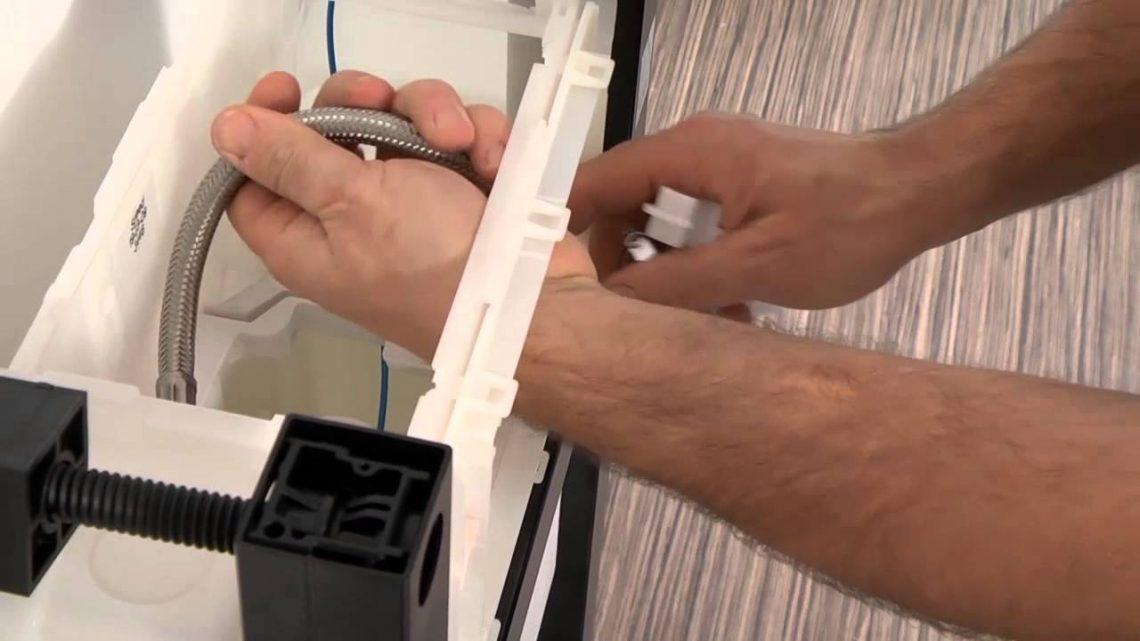 Comment accéder au mécanisme WC suspendu
