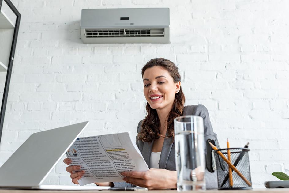 L'importance de travailler avec un climatiseur au bureau